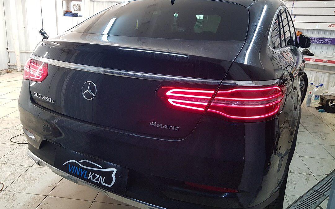 Тонировка пленкой Llumar ATR 05% — Mercedes-Benz GLE Coupe