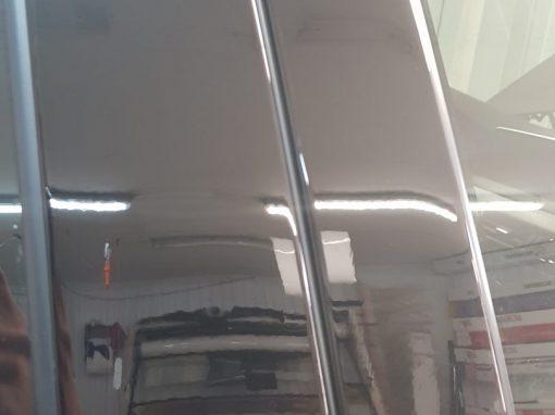 Бронирование стоек полиуретановой пленкой от французского производителя Hexis Bodyfance — BMW X5