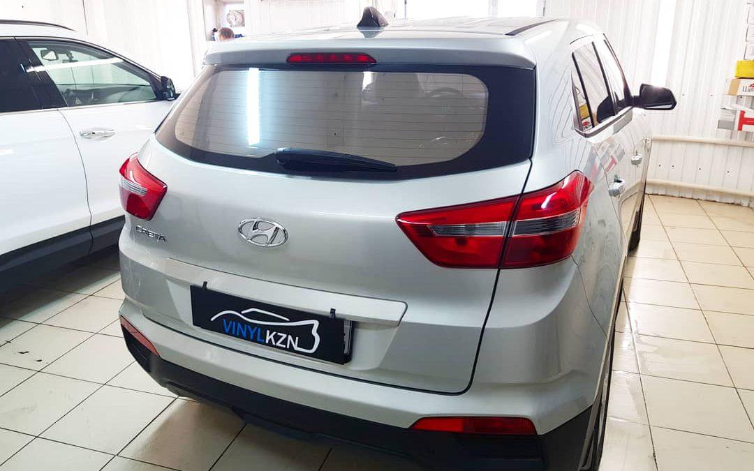 Тонировка пленкой Infinity с пепельно-серым оттенком — Hyundai Creta
