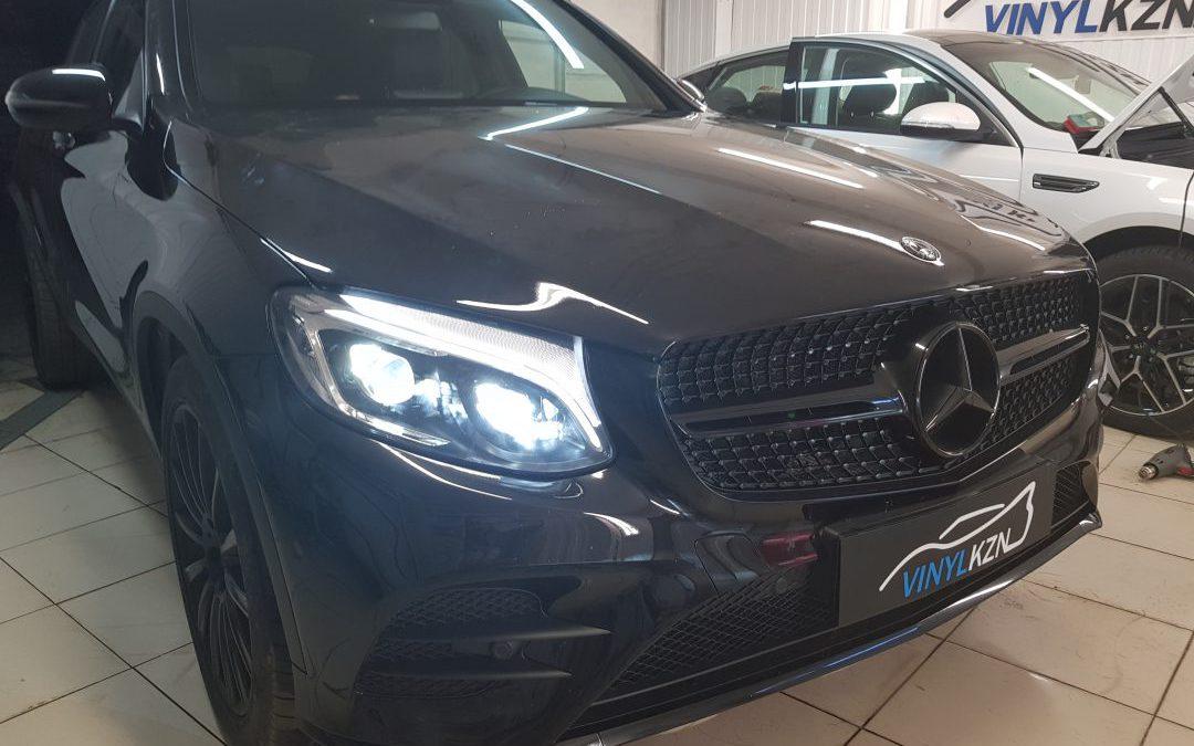 Бронирование лобового стекла — Mercedes