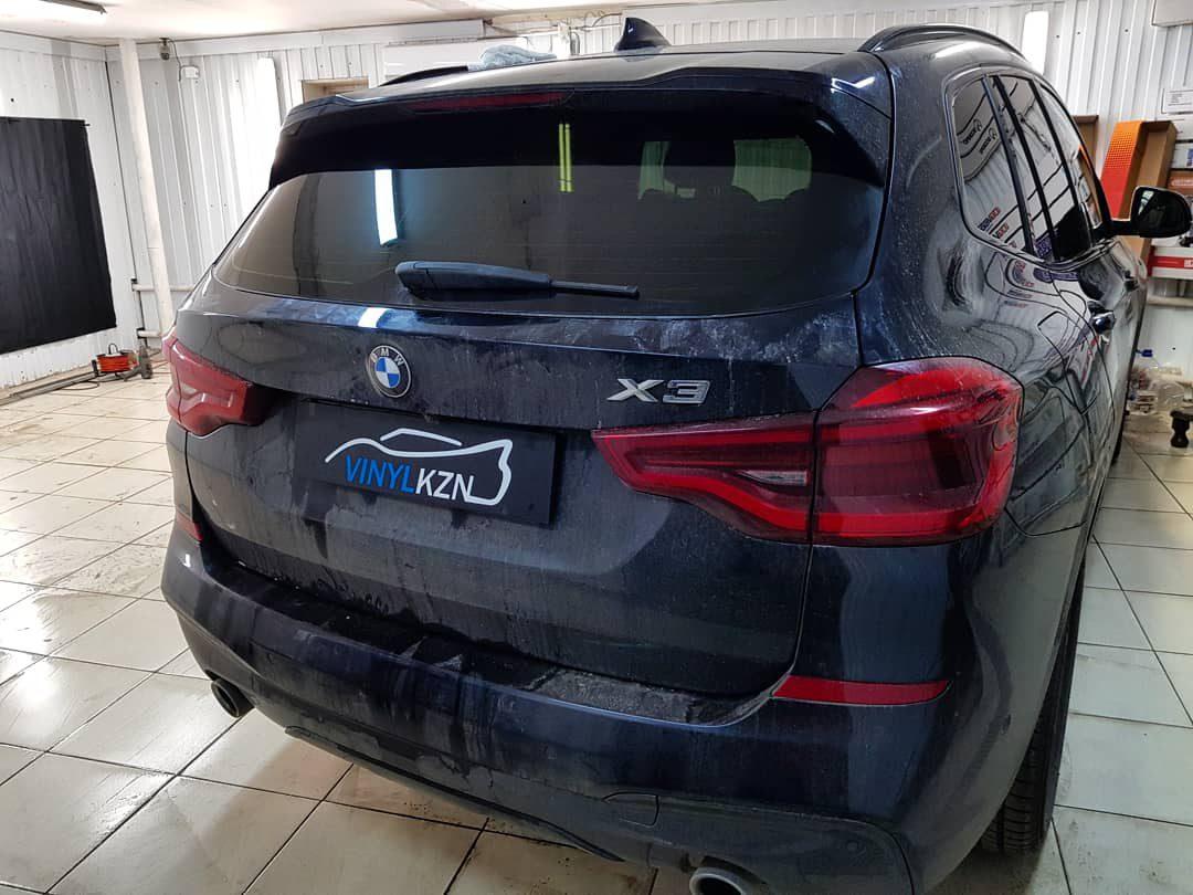 Тонировка пленкой Llumar ATR 05% автомобиля BMW X3