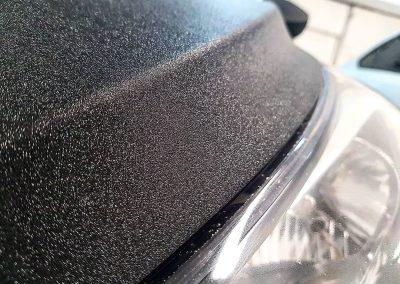 Оклейка капота алмазной крошкой — Hyundai Solaris