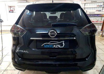 Тонирование фар автомобиля — Nissan X-Trail