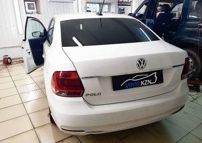 Тонировка стекол, премиальной пленкой Llumar — VW Polo