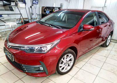 Тонирование задней части автомобиля пленкой с атермальными свойствами UltraVision — Toyota Corolla
