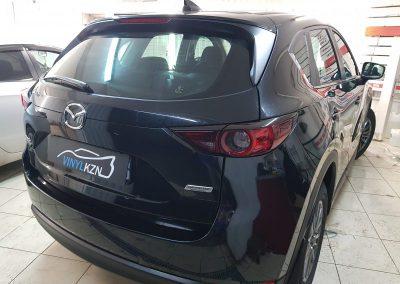 Тонирование задней части и передних боковых атермальной пленкой UltraVision BlueCold 20% — Mazda CX5