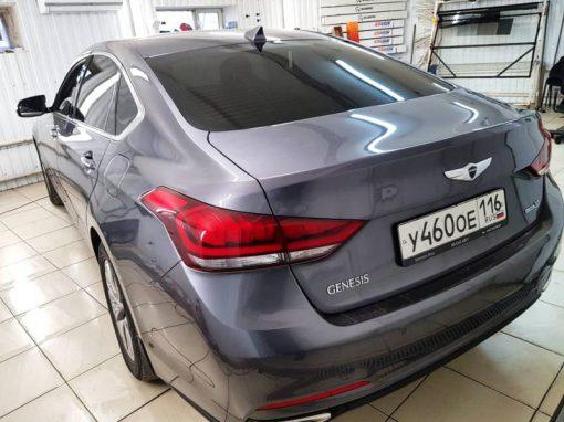 Тонировка премиальной пленкой Llumar представительского класса — быстро и качественно — 3500 руб. ,Hyundai Genesis