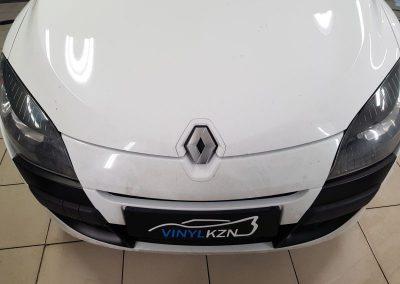 Renault Megane 3 — оклейка деталей автомобиля пленкой KMPF