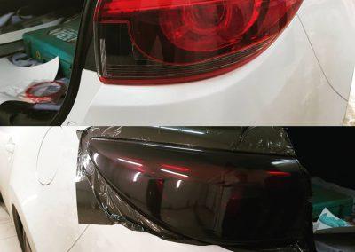 Тонировка фар автомобиля — Mazda 6