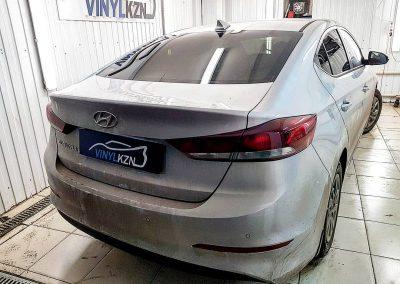 Установка сигнализации Starline A93 и тонирование премиальной пленкой Llumar — Hyundai Elantra