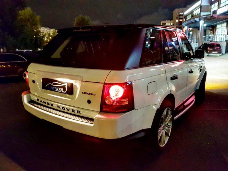 Оклейка крыши в черный глянец и всей окантовки крыши — Range Rover Sport