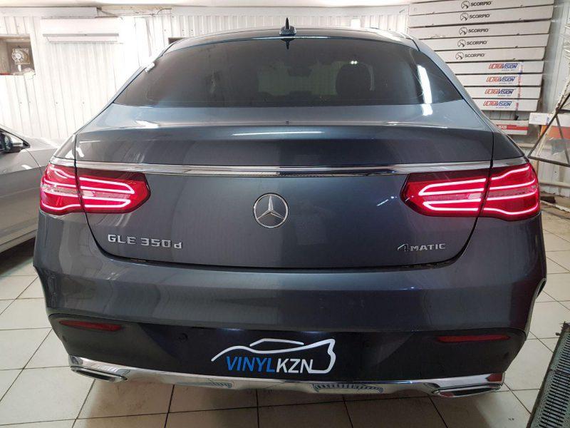 Тонирование Mercedes GLE премиальной пленкой Llumar