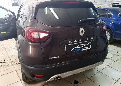 Renault Kaptur  — тонировка стекол пленкой Llumar
