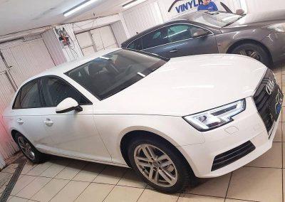 Audi A4  — тонировка пленкой Llumar с 50% затемнением