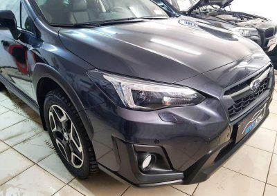 Бронирование, шумоизоляция, установка омывателя камеры заднего вида — Subaru XV