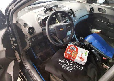 Установили охранный комплекс Starline A93 с дистанционным запуском двигателя — Chevrolet Aveo