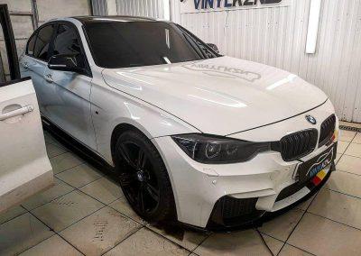 Тонировка стекол автомобиля BMW 3 серии пленкой UltraVision Supreme Thermo