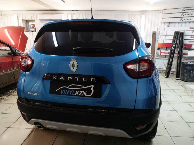 Тонировка плёнкой UltraVision Supreme (Thermo) HP 95% затемнения, передние боковые 30% — Renault Kaptur