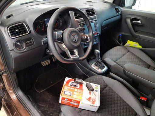 Установка автосигнализации Starline A93 — VW Polo