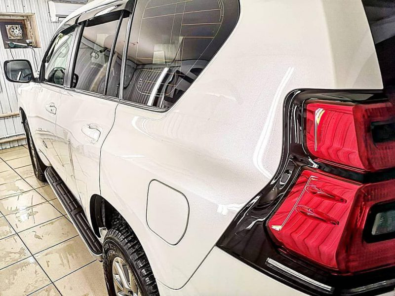 Комплекс работ на автомобиле Toyota Land Cruiser  Prado