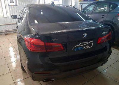 Тонировка стекол автомобиля BMW 5 серии пленкой ULTRAVISION SUPREME THERMO 95%