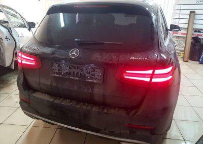 Mercedes GLC — тонировка стекол пленкой Johnson 95%
