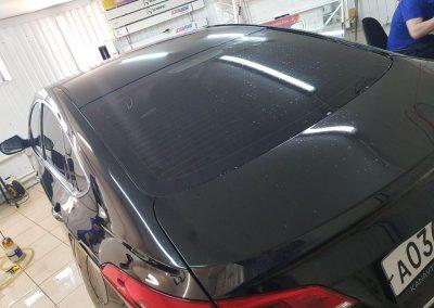 Hyundai I40 — оклейка крыши антигравийной пленкой