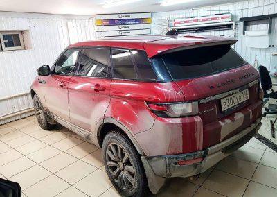 Range Rover Evoque — тонировка авто ULTRAVISION SUPREME THERMO 95%