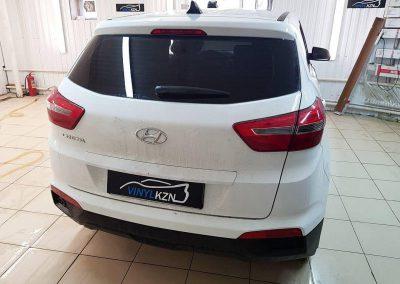 Тонирование задней части пленка Ultra Vision Supreme Thermo — Hyundai Creta