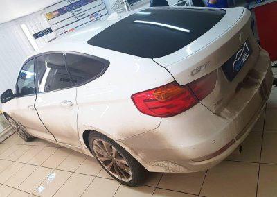 Тонирование задней части автомобиля, пленкой llumar 85% затемнения — BMW 3 Grand Coupe