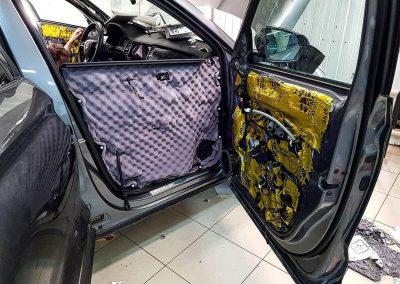 SKODA Kodiaq — комплексная шумоизоляция автомобиля
