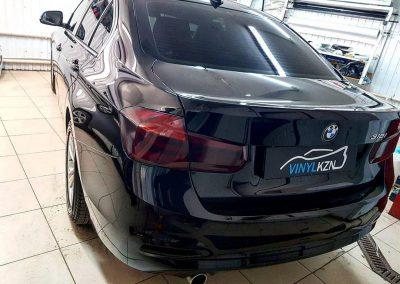Нанесение керамики на ваш автомобиль BMW 3 серии, антихром на решетку радиатора