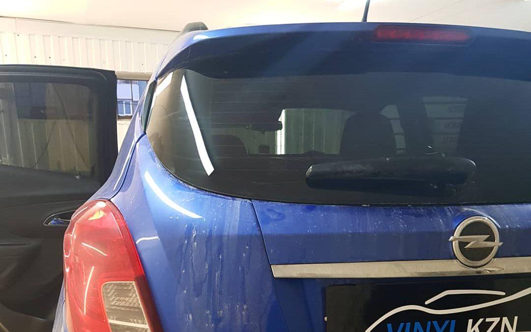 Opel Mokka — тонировка стекол автомобиля