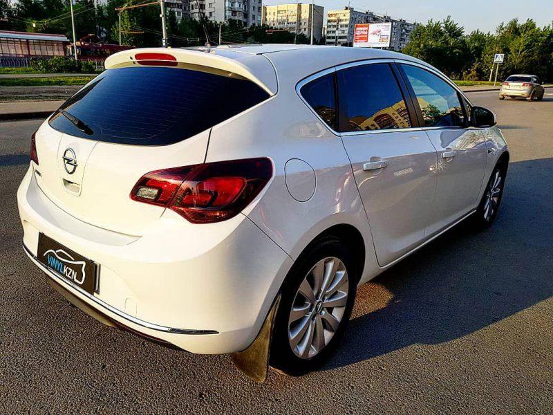 Легкая полировка всего кузова с дальнейшем нанесением керамики — Opel Astra