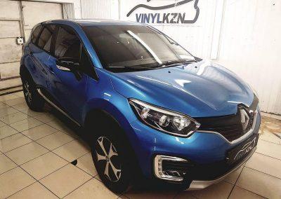 Renault Captur —  тонировка пленкой Johnson 95% стекол автомобиля