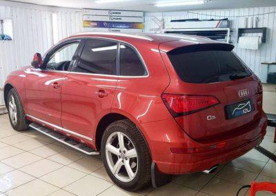 Audi Q5 — тонировка всех стекол авто пленкой ULTRAVISION SUPREME THERMO 95%