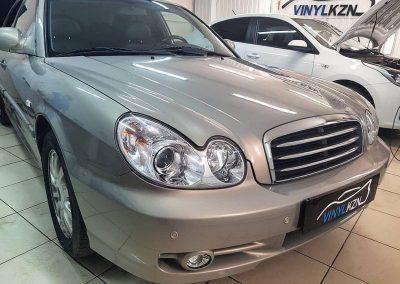 Hyundai Sonata — бронирование кузова пленкой Oraguard и тонировка стекол пленкой Ultra Vision Supreme Thermo