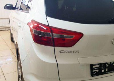 Hyundai Creta — забронировали погрузочную, под ручками и пороги немецкой пленкой Oraguard 270