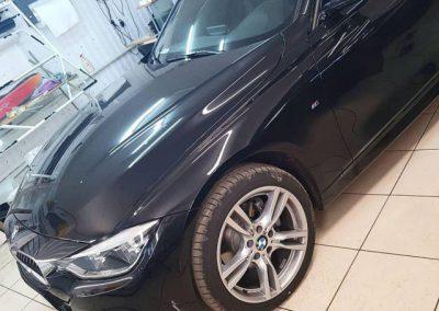 BMW 3 серии — тонировка стекол авто пленкой Llumar 95%