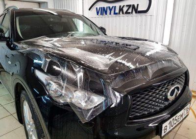 Бронирование пленкой Hexis Bodyfance автомобиля Infinity FX37