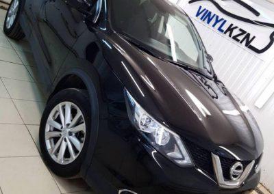 Nissan Qashqai — тонировка стекол автомобиля пленкой Llumar ATR
