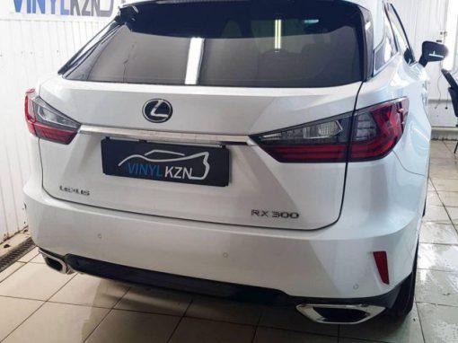 Установили сигнализацию E96, затонировали стекл пленкой Llumar — Lexus RX