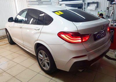 BMW X4 — тонировка стекол пленкой Llumar серии ATR