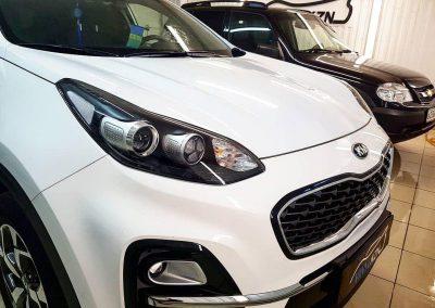 Kia Sportage — бронирование кузова пленкой ORAGUARD