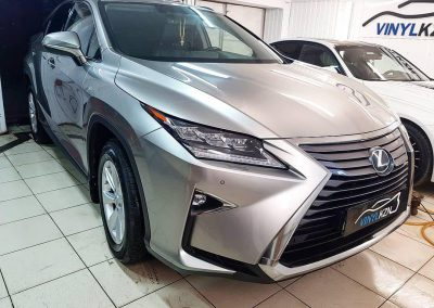 Lexus RX — бронирование лобового стекла пленкой ClearPlex