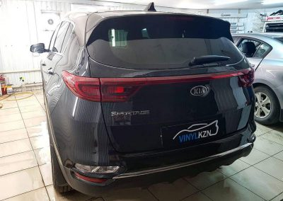 Kia Sportage — бронирование кузова автомобиля Oraguard