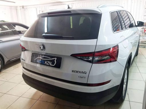 Skoda Kodiaq — тонировка стекол автомобиля пленкой Llumar 95%