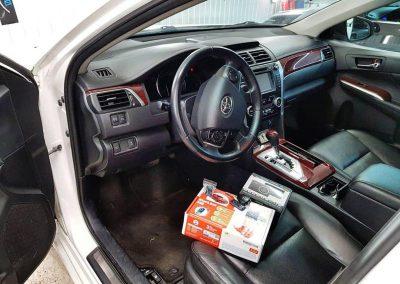 Установка автосигнализации StarLine S96 BT GSM на автомобиль Toyota Camry