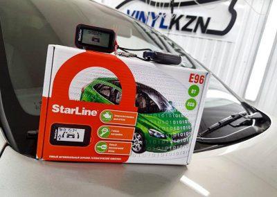 Установка автосигнализации StarLine E96 на автомобиль Hyundai Solaris