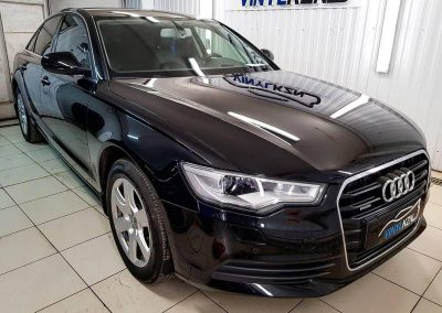 Комплексная глубокая полировка автомобиля — Audi A6